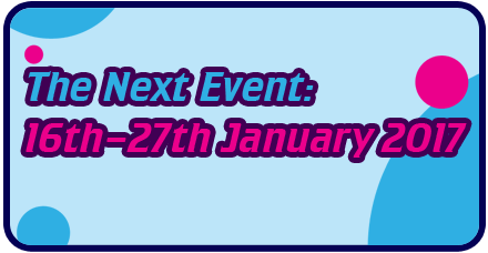 The next event is January 2017